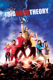Big Bang Theory - Season 5 Maxi poster Kunstdruck