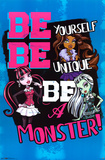 Monster High Augmented Reality Poster Poster