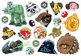 Angry Birds Star Wars Mini Foldover Stickers Adesivos