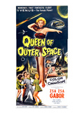 Queen of Outer Space, Center: Zsa Zsa Gabor, 1958 Photo