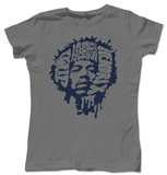 Juniors: Jimi Hendrix - Music is my Religion T-Shirts
