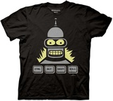 Futurama - Ctrl-Alt-Kill Shirts