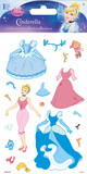 Disney Princess - Cinderella Dress up Foam Stickers Stickers