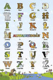 Alphabetimals Posters