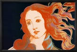Details of Boticelli's Birth of Venus, c.1984 Affiches par Andy Warhol