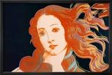 Details der Geburt der Venus von Botticelli, ca. 1984 Kunstdrucke von Andy Warhol