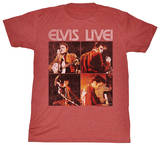 Elvis - Live Time Shirts