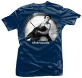 Metropolis - Clock T-shirts