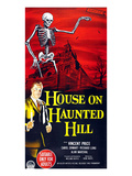 House On Haunted Hill, Bottom Left: Vincent Price, 1959 Print