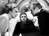 Notorious, Madame Leopoldine Konstantin, Ingrid Bergman, Claude Rains, 1946, Sick in Bed Lminas