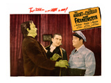 Abbott And Costello Meet Frankenstein, From Left: Glenn Strange, Bela Lugosi, Lou Costello, 1948 Poster
