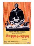 Simon, King of the Witches, Andrew Prine, 1971 Print