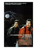 An American Werewolf In London, Griffin Dunne, David Naughton, 1981 Poster