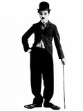 Charlie Chaplin, 1925 Print