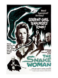 The Snake Woman, (AKA Terror of the Snake Woman), Susan Travers, Elsie Wagstaff, 1961 Photo