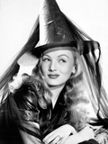 Veronica Lake in Publicity Pose for I Married a Witch, 1942 Prints