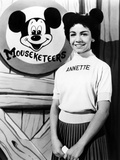 The Mickey Mouse Club, Annette Funicello, 1955-59 Photo