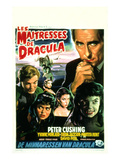 The Brides of Dracula, (AKA Les Maitresses De Dracula), 1960 Plakater