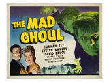 The Mad Ghoul, Turhan Bey, Evelyn Ankers, David Bruce, 1943 Photo
