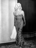 An Alligator Named Daisy, Diana Dors, Attending Movie Premiere at the Odeon, Marble Arch, 1955 Photo