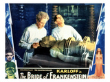 Bride of Frankenstein, Ernest Thesiger, Elsa Lanchester, Colin Clive, 1935 Prints