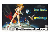Barbarella, Jane Fonda, 1968 Prints