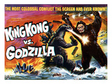 King Kong vs. Godzilla, The Battling Two Titans, 1963 Posters