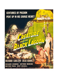 Creature From the Black Lagoon, Richard Carlson, Julie Adams, 1954 Posters