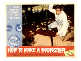 How to Make A Monster, Dennis Cross, Robert H. Harris, 1958 Photo