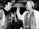 The Searchers, John Wayne, Ward Bond, 1956 Print