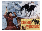 The Cosmic Monster, (AKA Cosmic Monsters, AKA the Strange World of Planet X), Gaby Andre, 1958 Poster