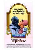 The Abominable Dr. Phibes, From Left: Vincent Price, Virginia North, 1971 Posters
