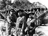 The Bridge on the River Kwai, Alec Guinness, William Holden, Jack Hawkins, 1957 Poster