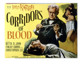 Corridors of Blood, Boris Karloff, 1958 Posters
