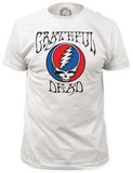 Grateful Dead - Steal Your Face with Logo (slim fit) T-shirty