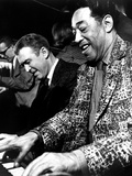 Anatomy of a Murder, James Stewart, Duke Ellington, 1959 Photo