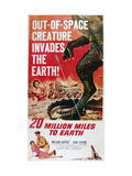 20 Million Miles to Earth, Bottom From Left: Joan Taylor, William Hopper, 1957 Photo