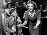 Babes in Arms, Mickey Rooney, Judy Garland, 1939, Violin Photo