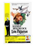 The Birds, (AKA Los Pajaros), Alfred Hitchcock, Tippi Hedren, 1963 Posters