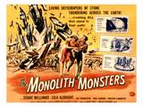 The Monolith Monsters, Grant Williams, Lola Albright, 1957 Reprodukcje