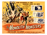 The Monolith Monsters, Grant Williams, Lola Albright, 1957 Photo