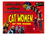 Cat-Women of the Moon, Bottom, Left From Left, Sonny Tufts, Marie Windsor, Victor Jory, 1953 Photo