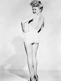 Betty Grable, World War II Pin-Up Picture, 1943 Photo