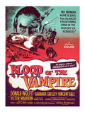 Blood of the Vampire, Donald Wolfit, Barbara Shelley, Victor Maddern, 1958 Prints