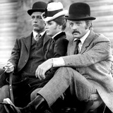 Butch Cassidy and the Sundance Kid, Paul Newman, Katharine Ross, Robert Redford, 1969 Photo