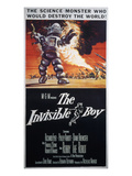 The Invisible Boy, Robby the Robot, Richard Eyer, 1957 Kunstdruck