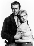 The Naked Spur, James Stewart, Janet Leigh, 1953 Print