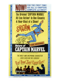 The Adventures of Captain Marvel, Tom Tyler, (Serial), 1941 Posters