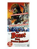 The Beast From 20,000 Fathoms, 1953 Kunstdrucke