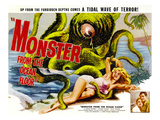 Monster From the Ocean Floor, Anne Kimbell, Stuart Wade, 1954 Poster